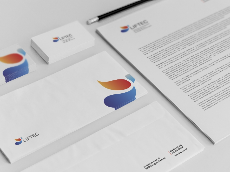 LIFTEC - Rediseño de logotipo y web