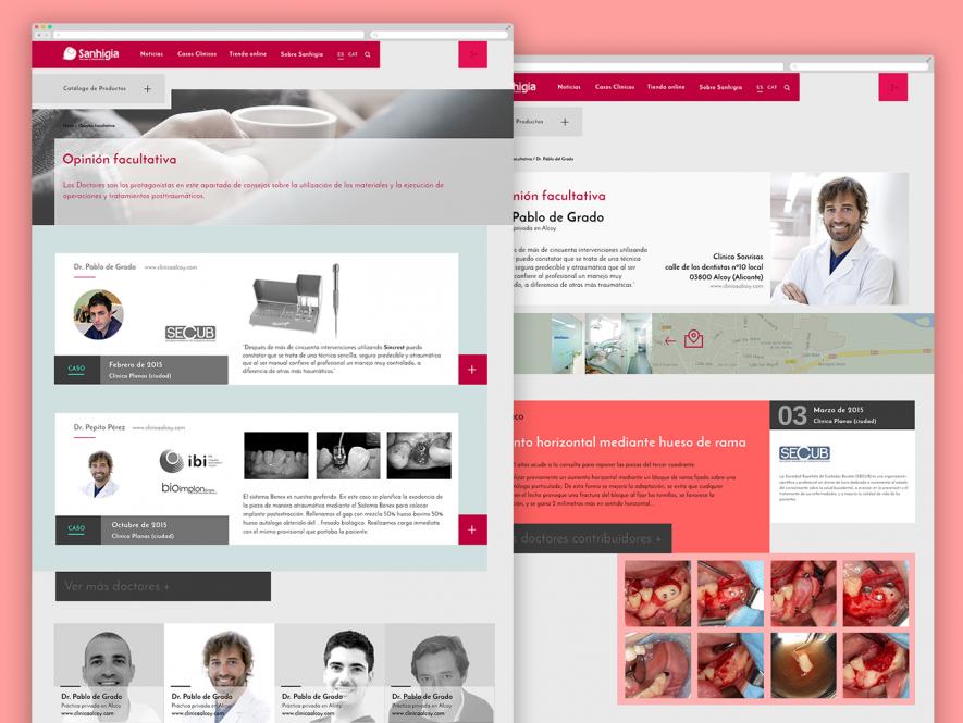 Sanhigía, e-commerce de artículos para cirugía dental