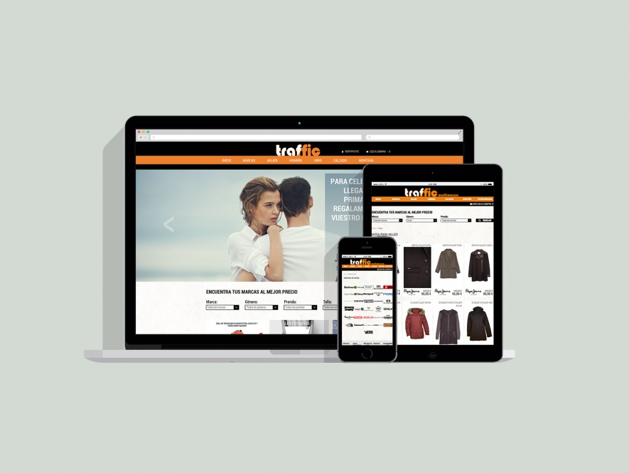 Traffic e-commerce