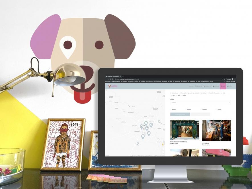 Tu Perro es Bienvenido. Branding y Web